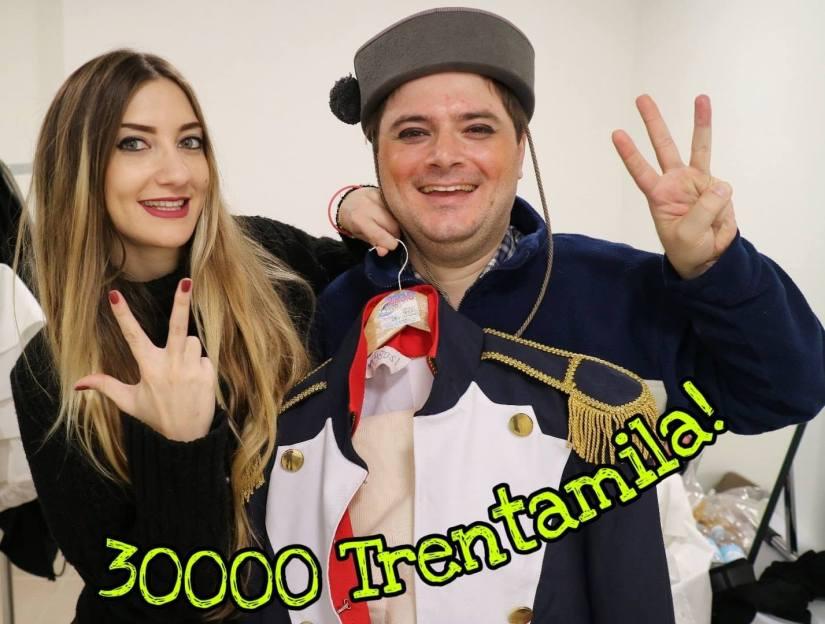 damiano e margherita tercon facebook trentamila