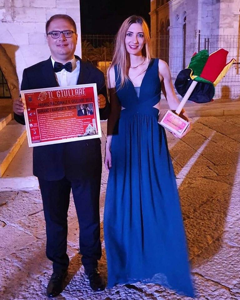 Damiano Tercon Margherita Tercon premio Nazionale Il Giullare 2019