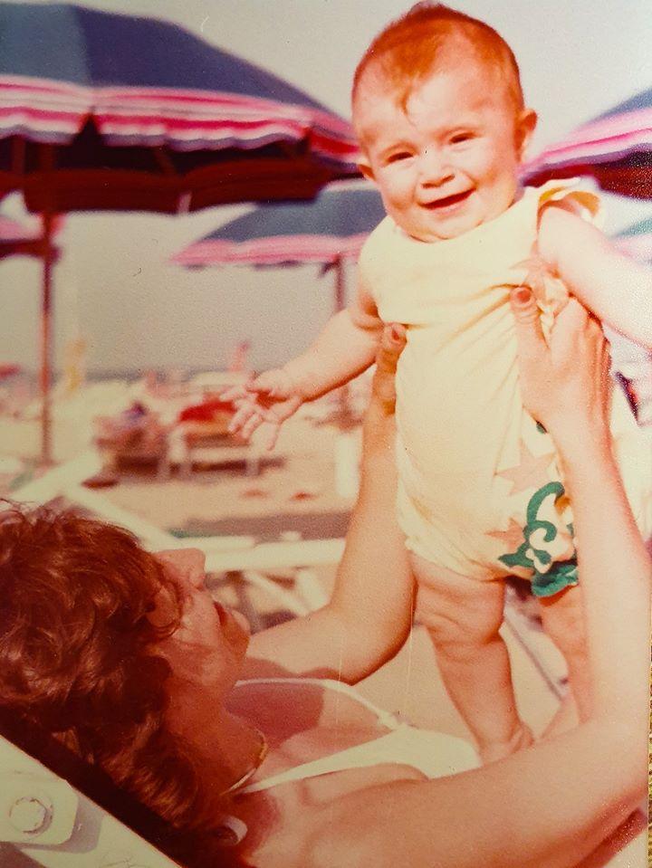 Damiano Tercon e la mamma Simonetta Lolli